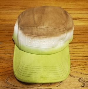 Supreme Embossed Demin Camp Cap